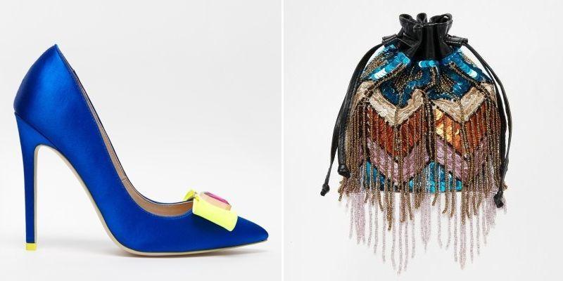 Zapatos y bolsos de fiesta en Asos