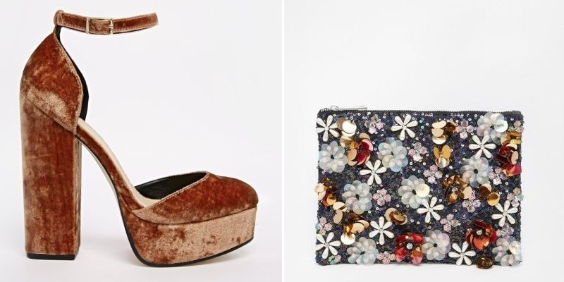 Zapatos y bolsos de fiesta