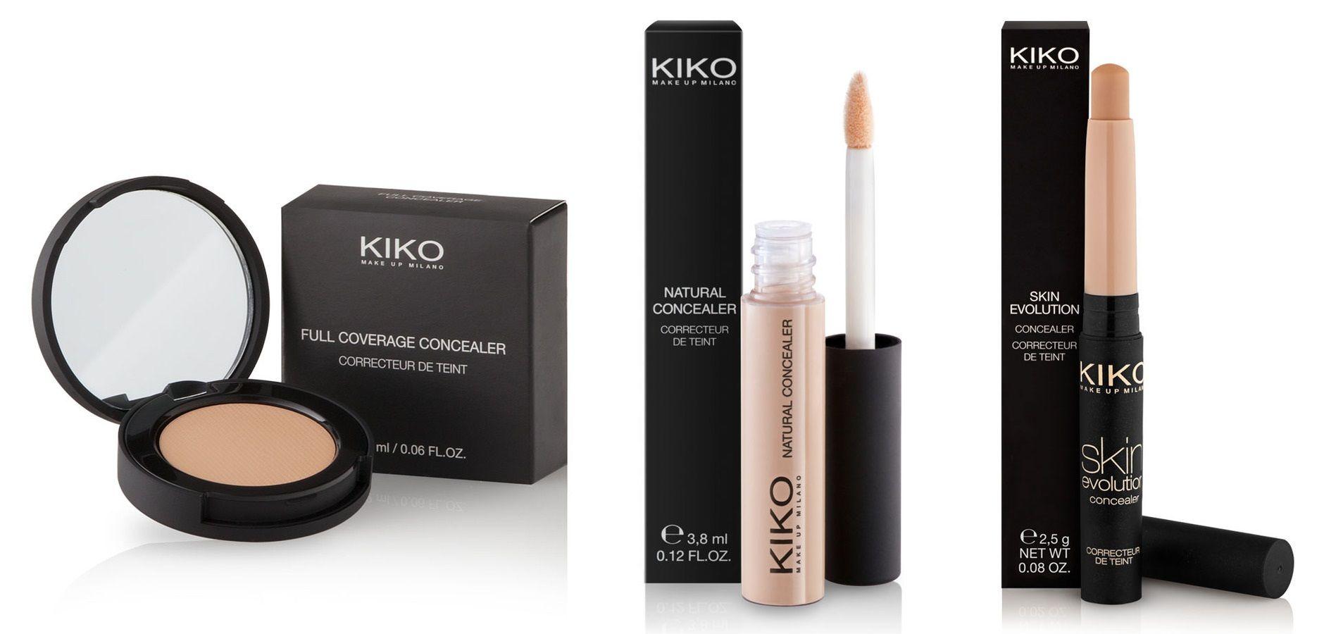 Maquillaje corrector Low cost Kiko Milano