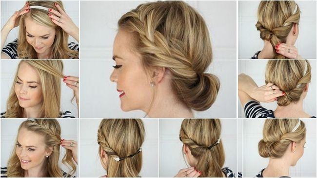 Peinados con trenzas faciles y bonitos