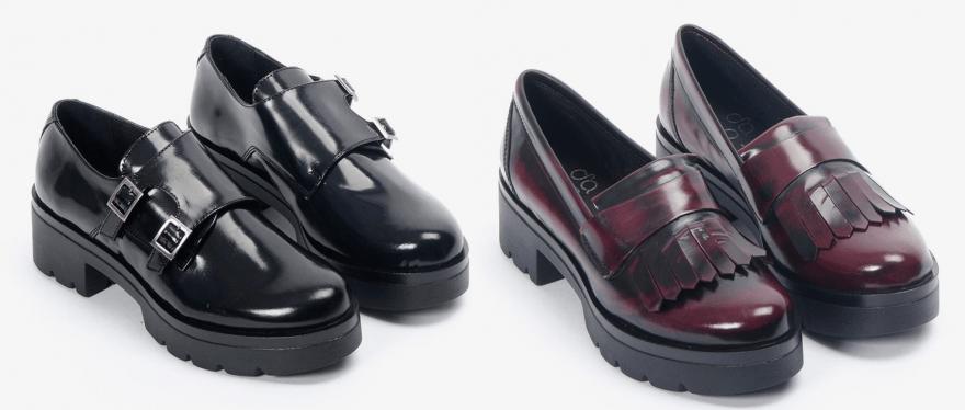 85437d856553a últimas tendencias en zapatos para mujer. Zapatos con plataforma plana Gaia