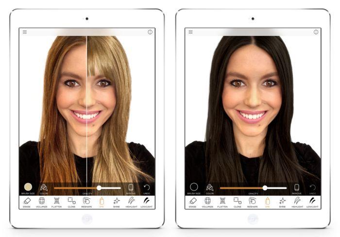 Apps para cambiar el peinado