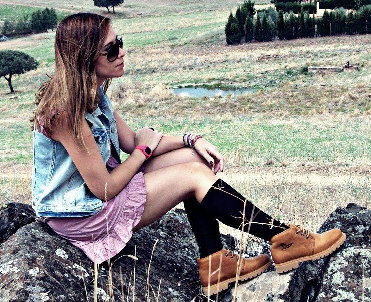 Ideas de outfits con botas Timberland