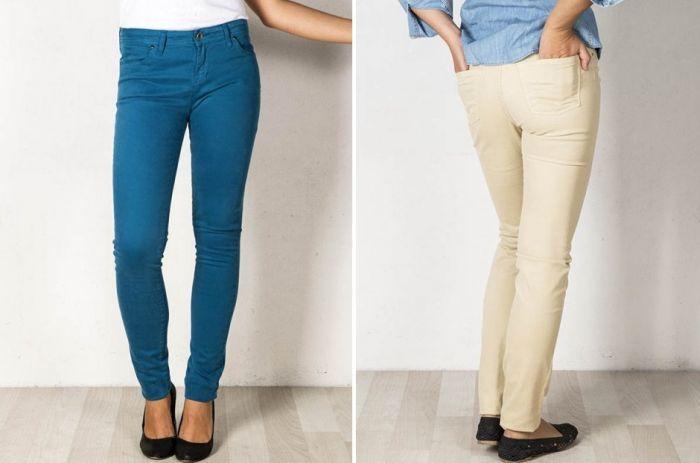Pantalones de marca baratos hechos en España