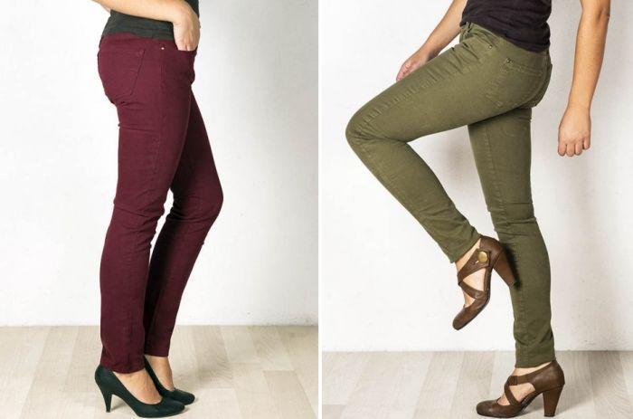 Pantalones de marca en rebajas de Mercajeans Madrigueras