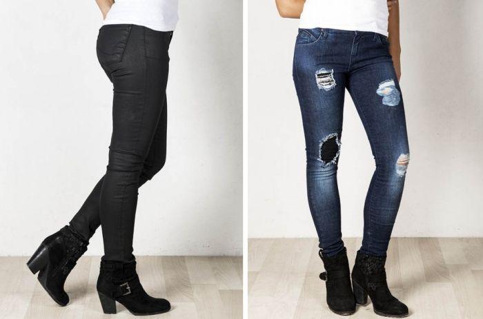 Pantalones vaqueros encerados baratos en Merca Jeans