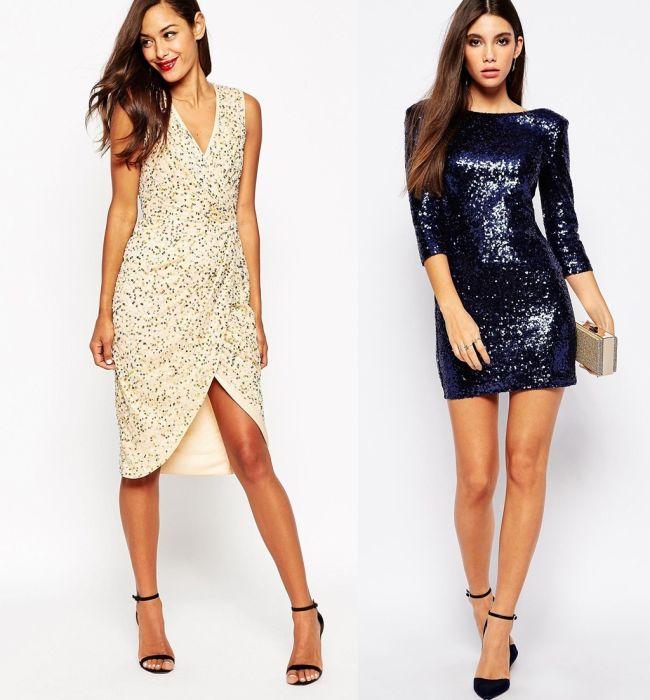 Vestidos para navidad y nochevieja 2015