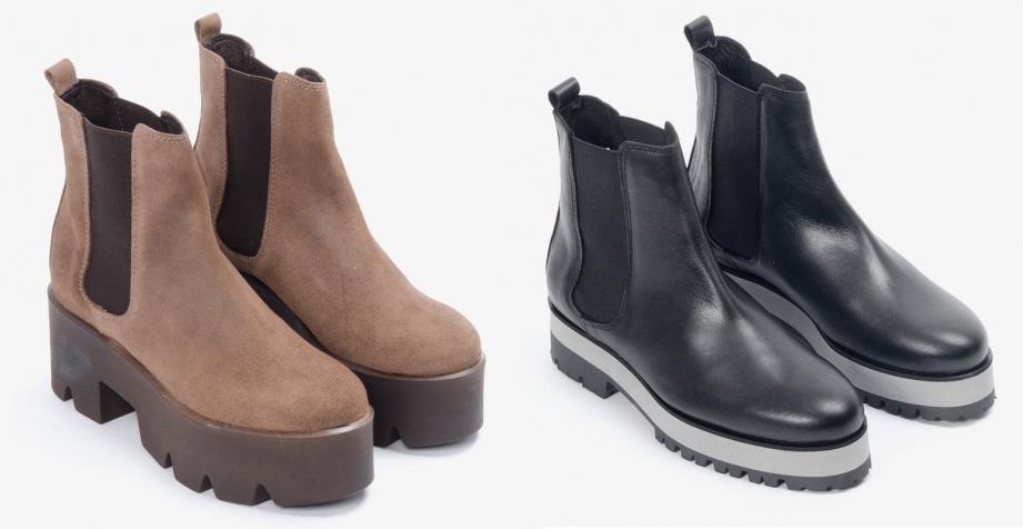 Zapatos con plataforma plana Gaia