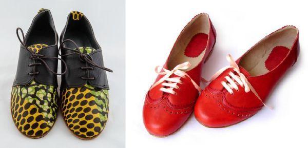 Zapatos de piel estampados Etsy