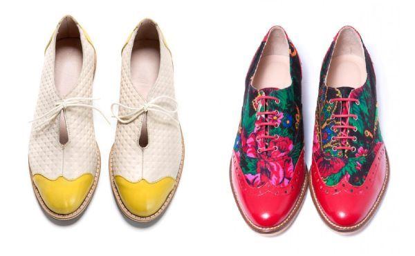 Zapatos oxford para mujer originales