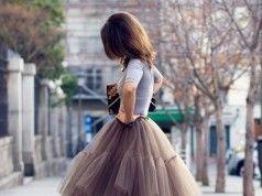 Faldas de tul para bodas