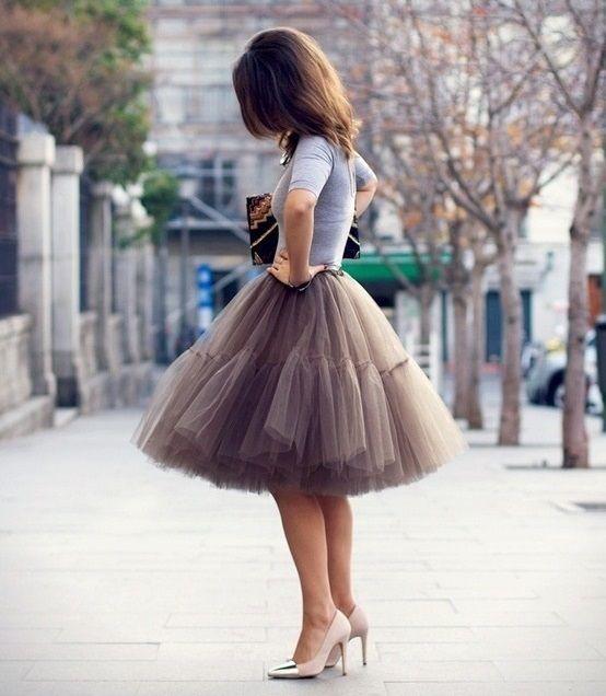 Faldas para bodas de invierno