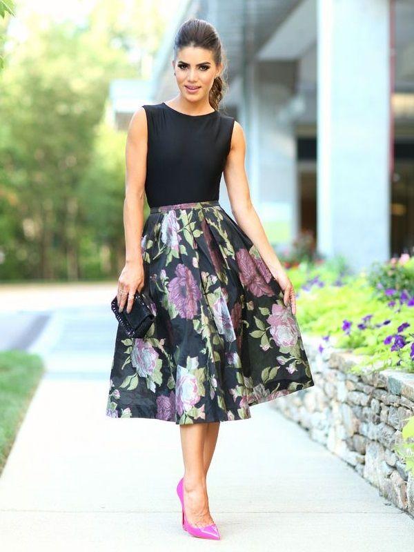 Faldas para invitadas de boda