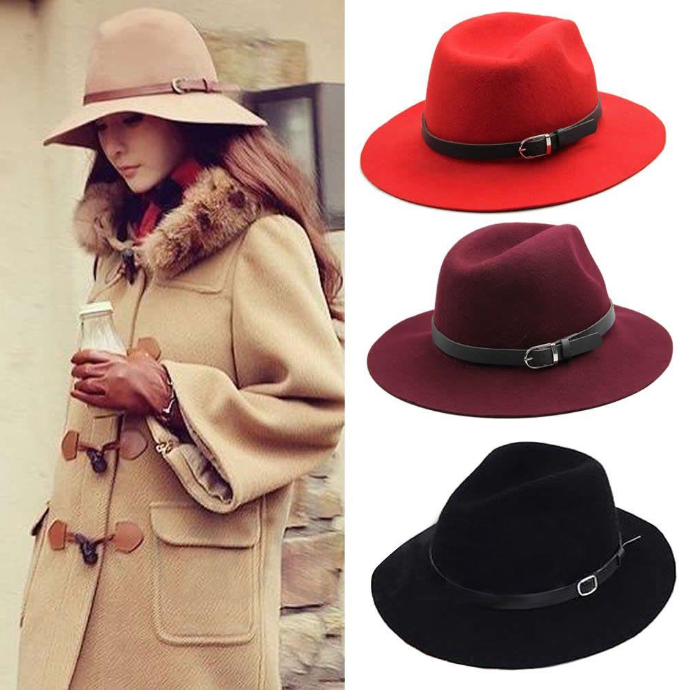 Sombreros de mujer de invierno