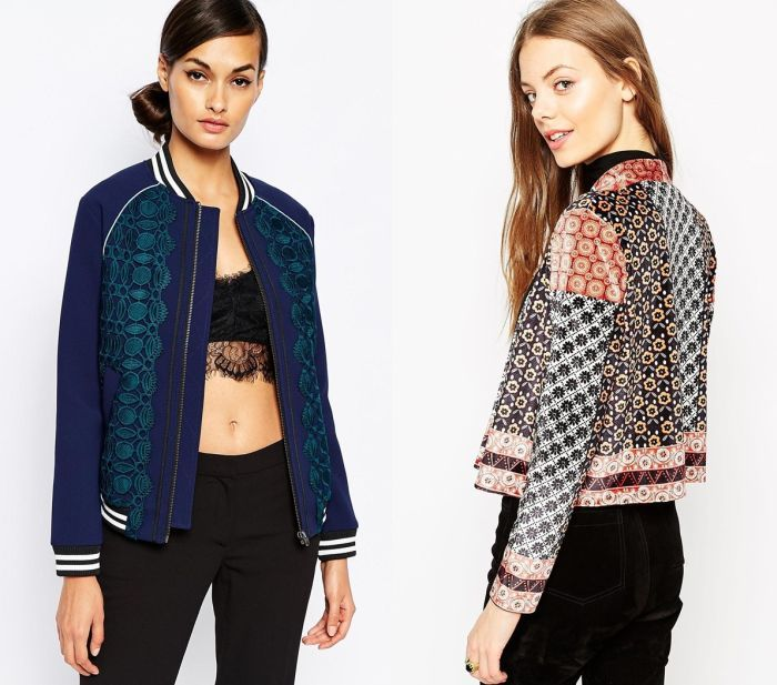 Chaquetas bomber mujer
