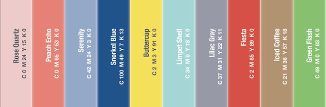 Colores primavera verano 2016 según Pantone