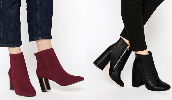 comprar real zapatillas estilo de moda Botines de tacón altos - Tu Moda Online