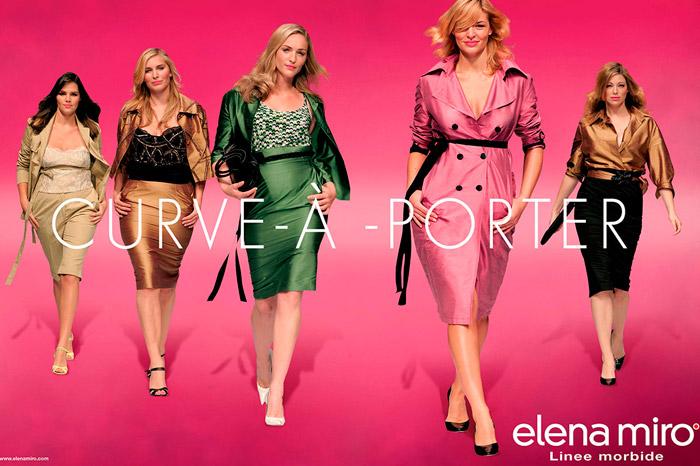 Elena miró ropa para gorditas online