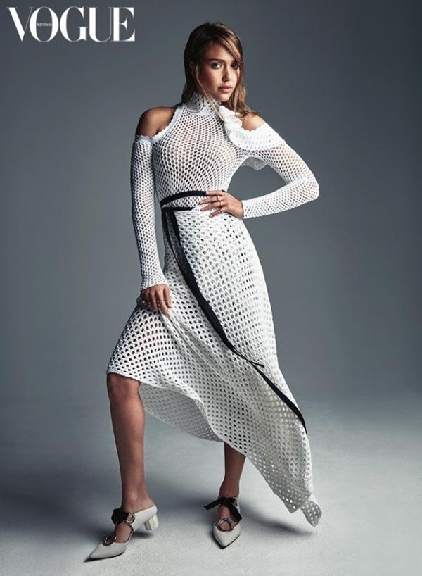 Jessica Alba Vogue