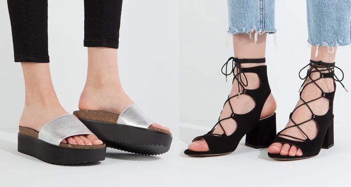 Zapatos pull and bear verano