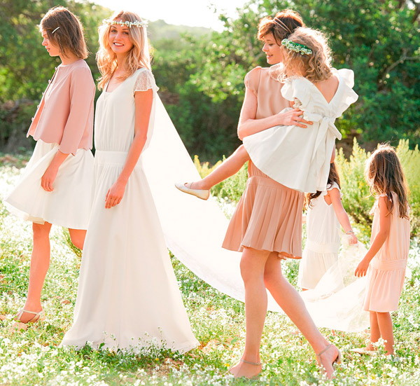 vestidos de novia sencillos y baratos: la redoute | tmo