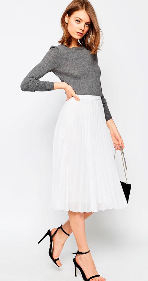 Faldas plisadas baratas