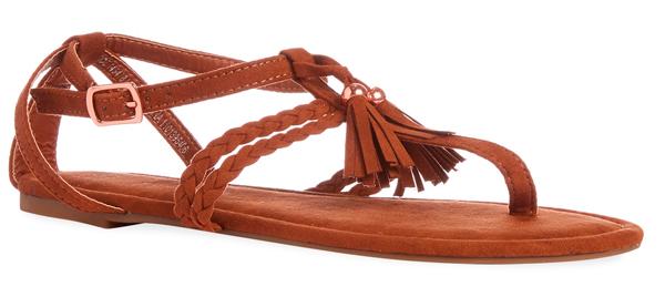 Sandalias baratas en Primark