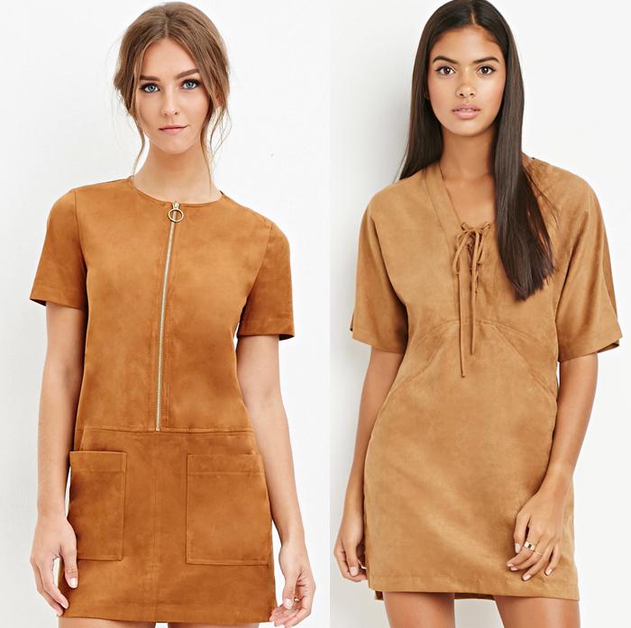 Vestidos de ante de Zara