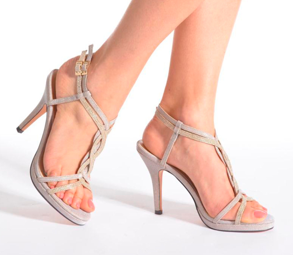 Zapatos de tacón cómodos para fiesta