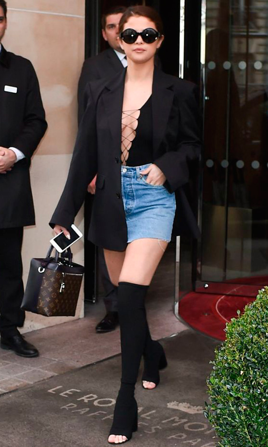 Copia el look de Selena Gomez