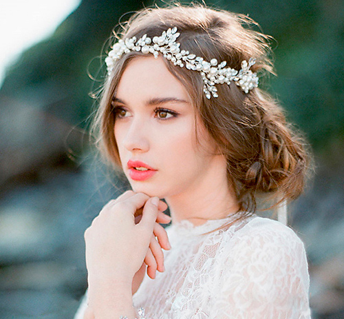 Diademas para novias