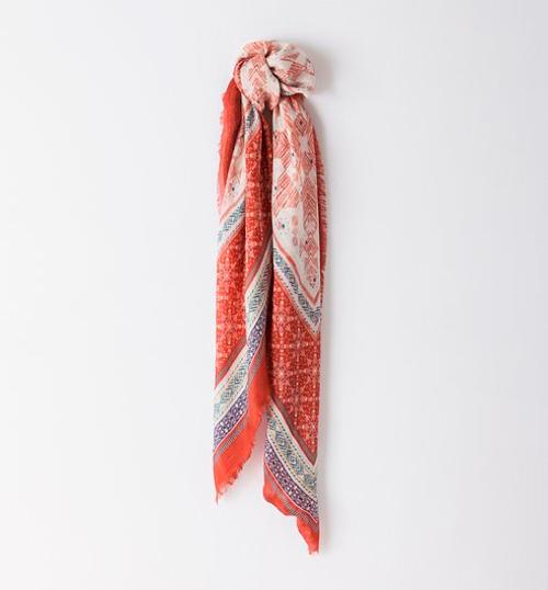 Pañuelos étnicos de seda