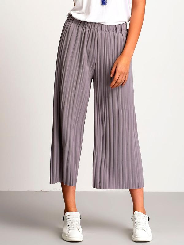 Pantalones crop Shein
