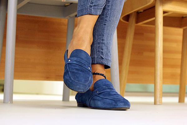 Zapatos mocasin mujer