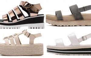 zapatos plataforma plana economicos