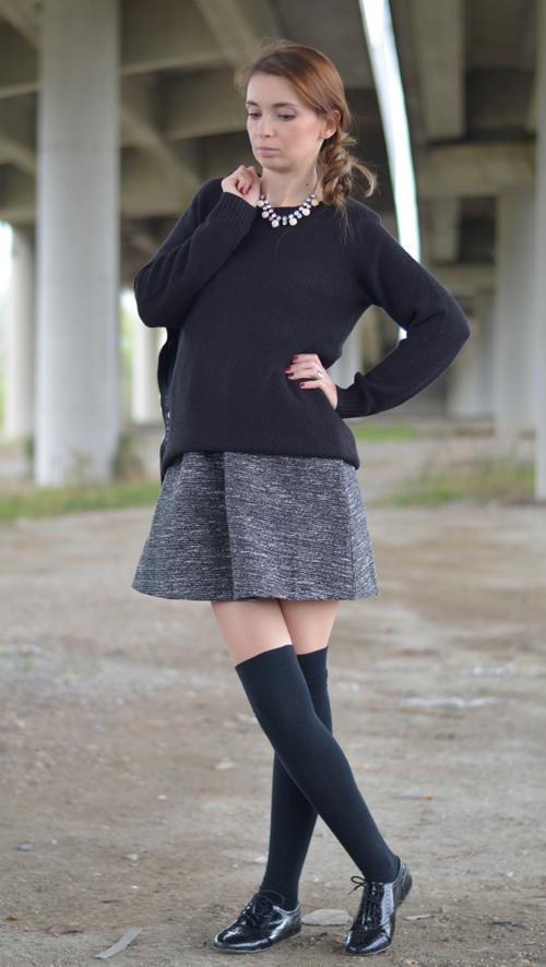 Calcetas altas mujer