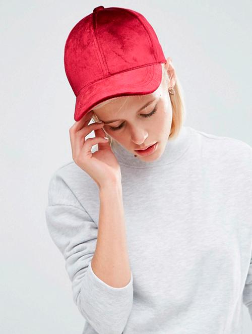 gorras de terciopelo
