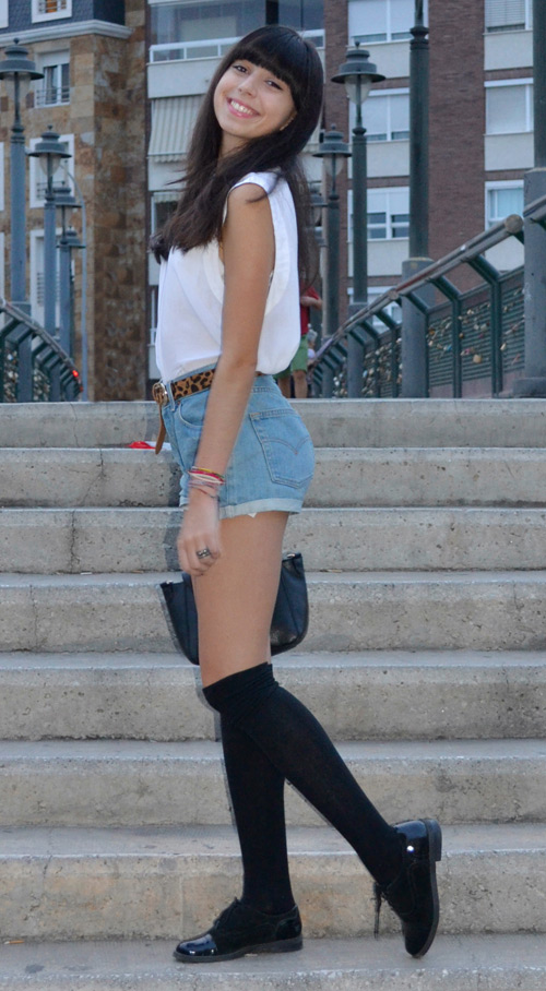 Looks con calcetines altos