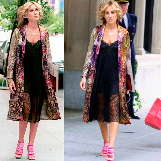 Ideas de looks Carrie Bradshaw