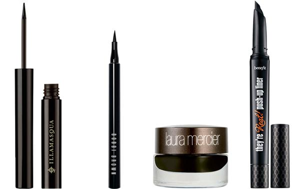 cómo pintar los ojos con eyeliner