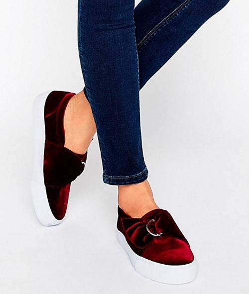 cuidados de un zapatos de terciopelo