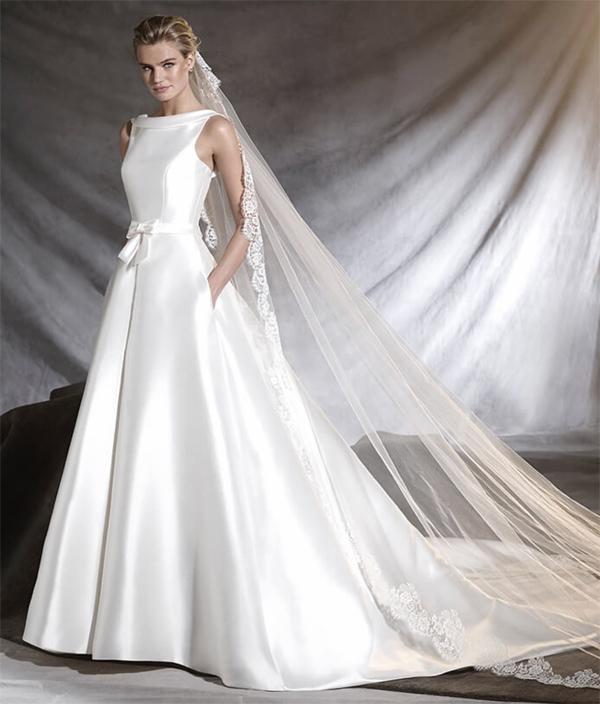 vestidos de boda de dia