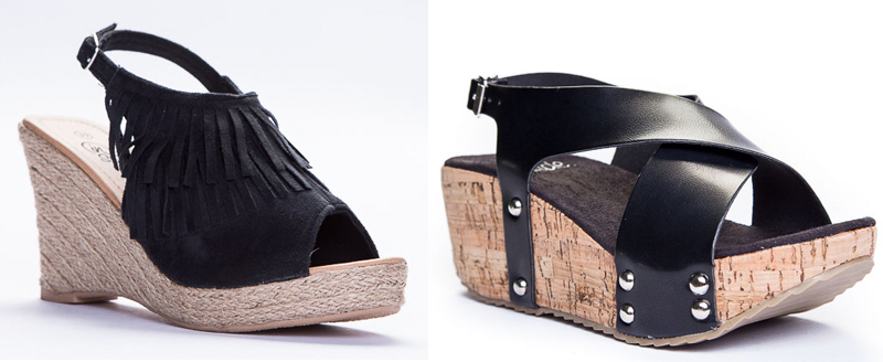Zapatos de cuña baratos