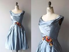 ropa años 50