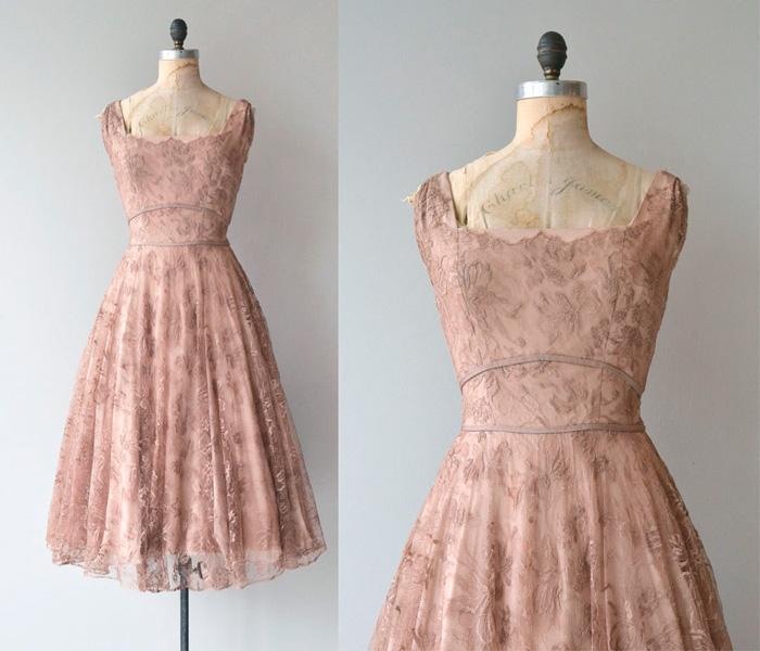 vestido estilo años 50