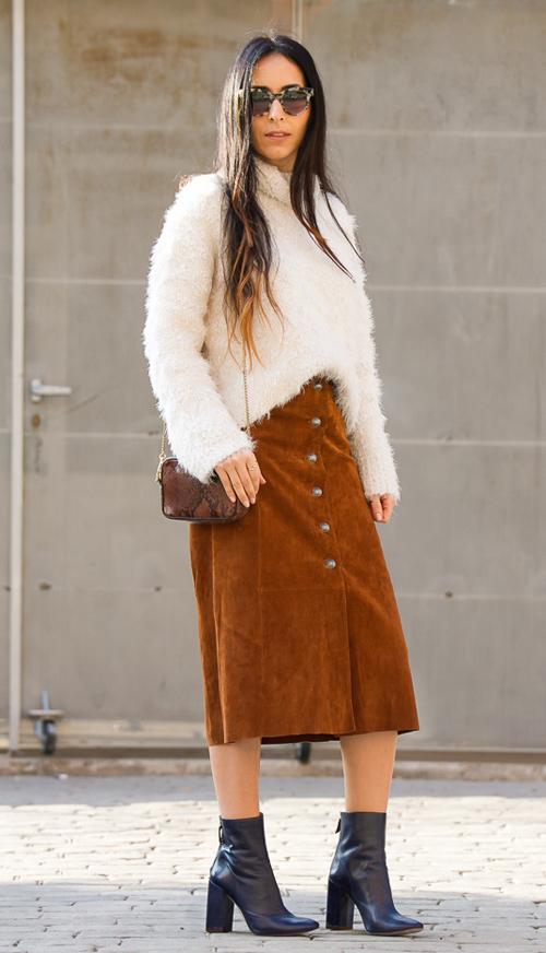 faldas de piel