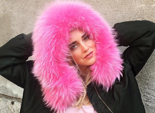abrigos con pelo de colores