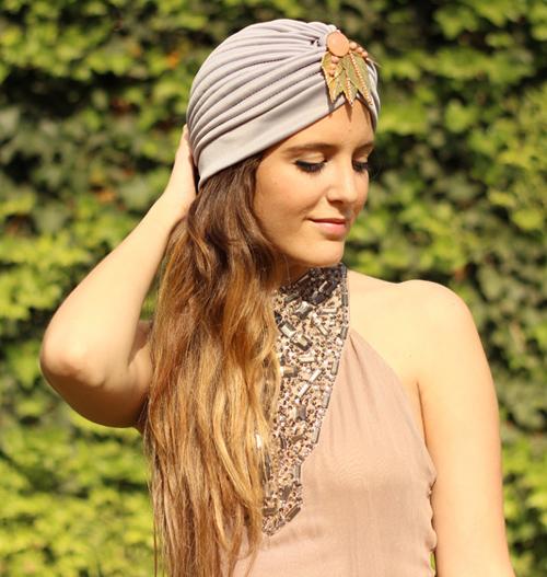 cómo llevar un turbante