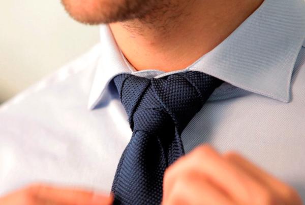 Nudos de corbata paso a paso
