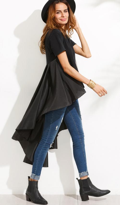 camisas de moda shein